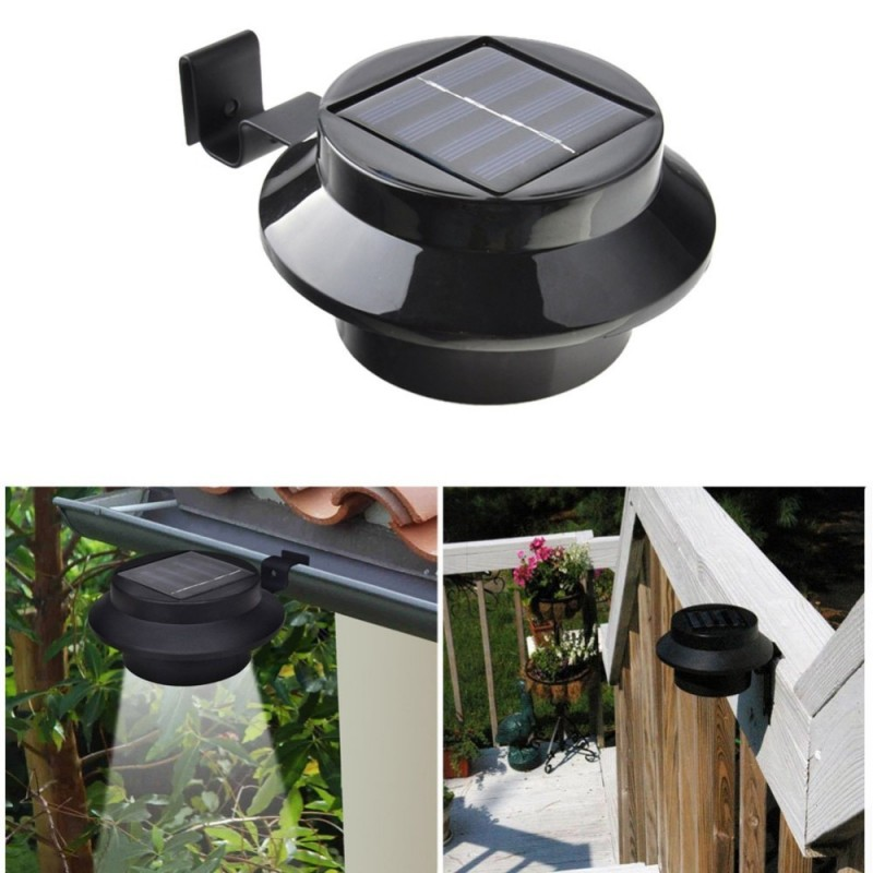 2 db napelemes kültéri lámpa Ereszre rakható