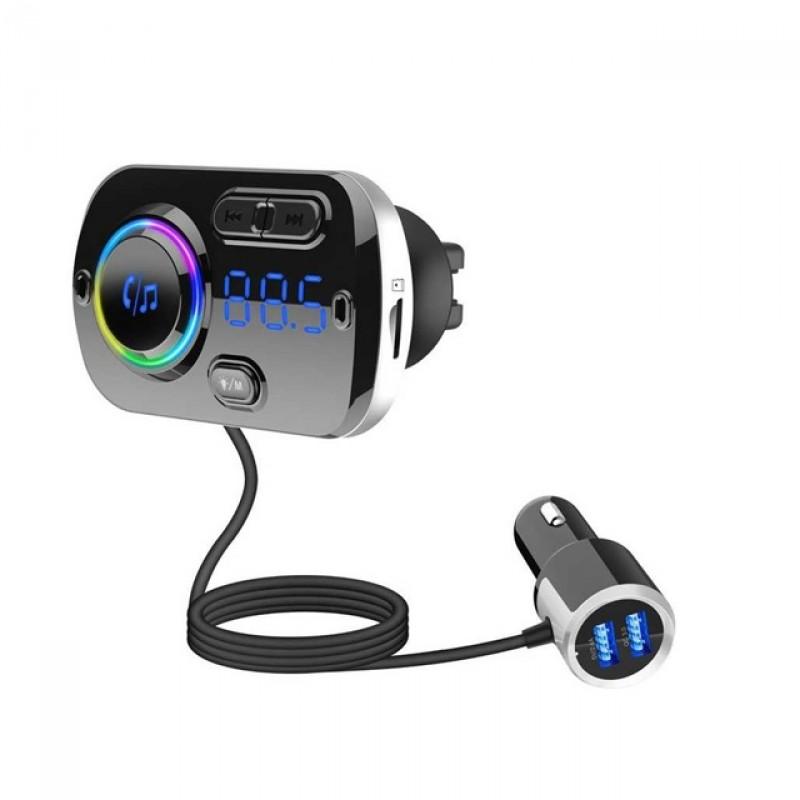 BC49BQ Bluetooth autós MP3 lejátszó Fm Transzmi...