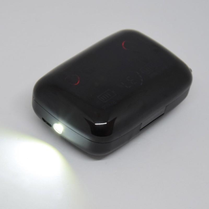 Bluetooth headset / Vezeték nélküli fülhallgató, Powerbank (M19)