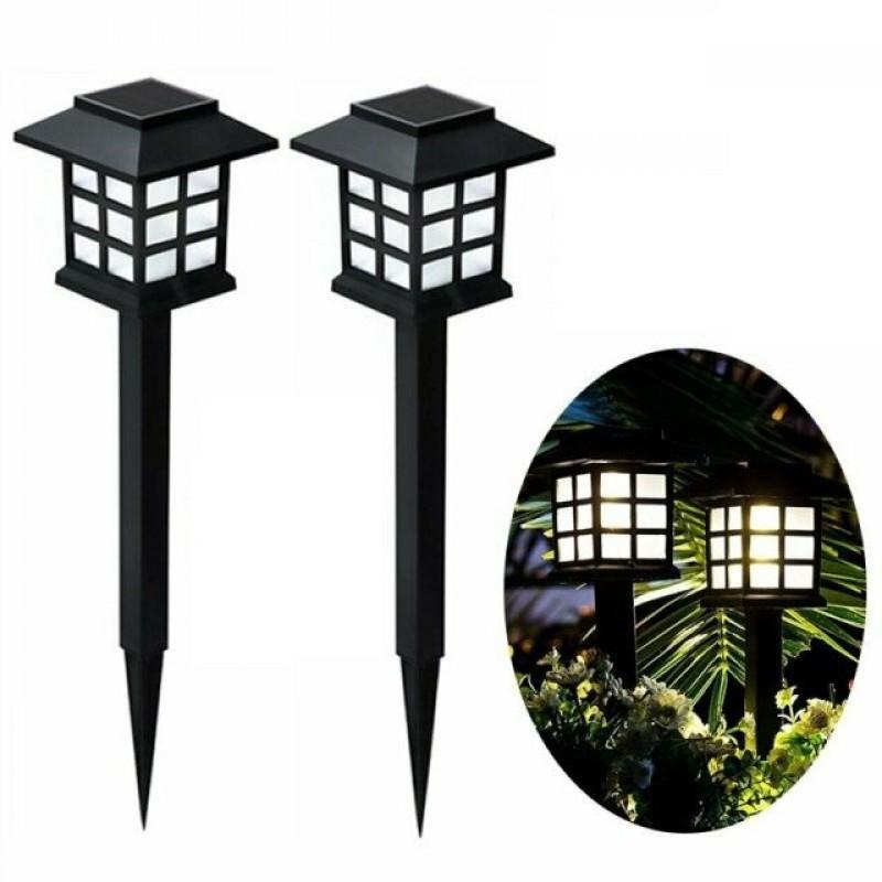 4 db Napelemes LED-es Leszúrható Kerti Lámpa x1...