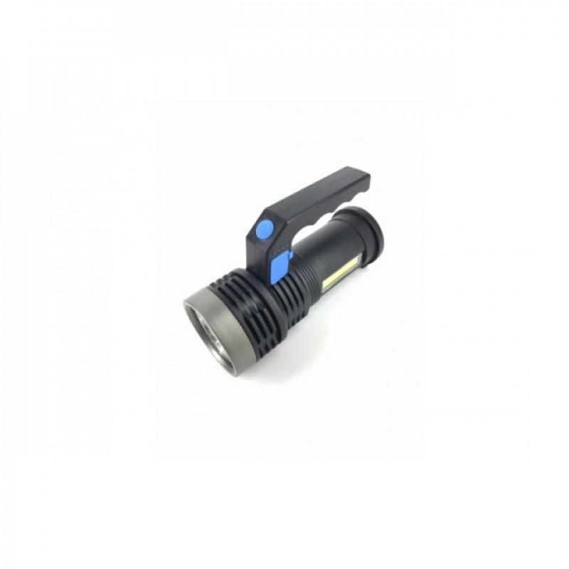 LED 3W + 10 * COB multifunkciós lámpa USB -vel
