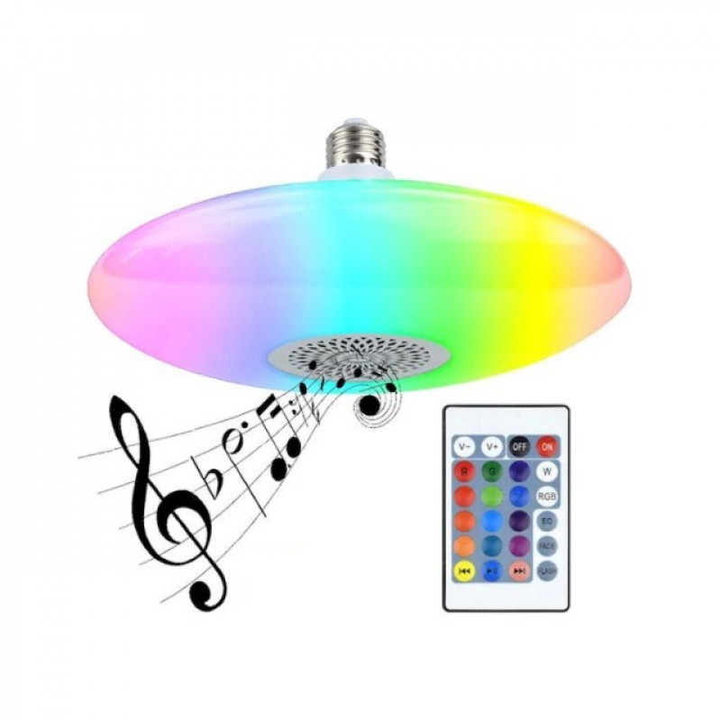 E27 foglalatú Ufo lámpa formájú színváltós ...