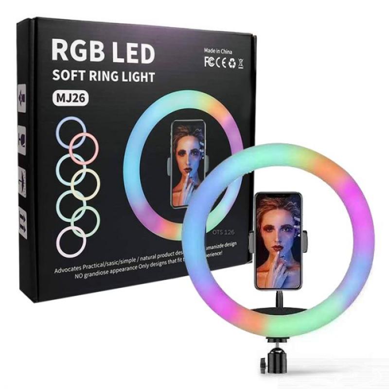 33cm-es színes (RGB LED) Szelfilámpa állvánnya...
