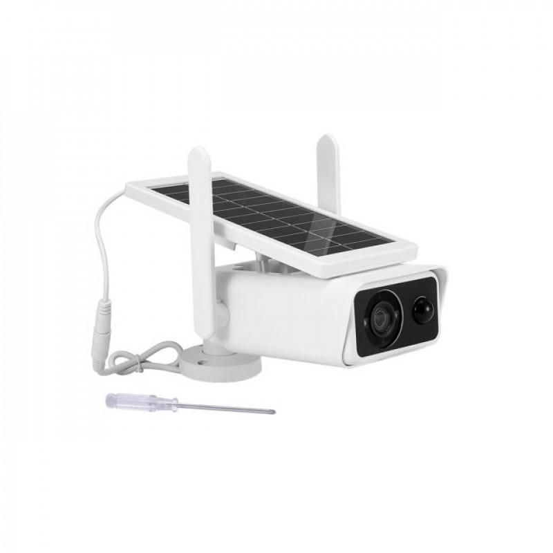 Napelemes Wifi kamera 1080P PIR Motion IR Night Vi...