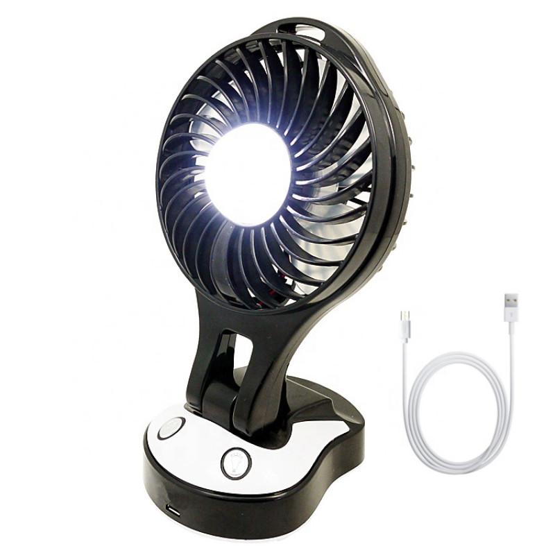 Hordozható ventilátor LED világítással YX-102...