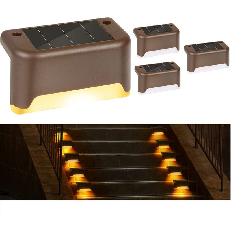 4db Napelemes Lépcső / korlát Lámpa