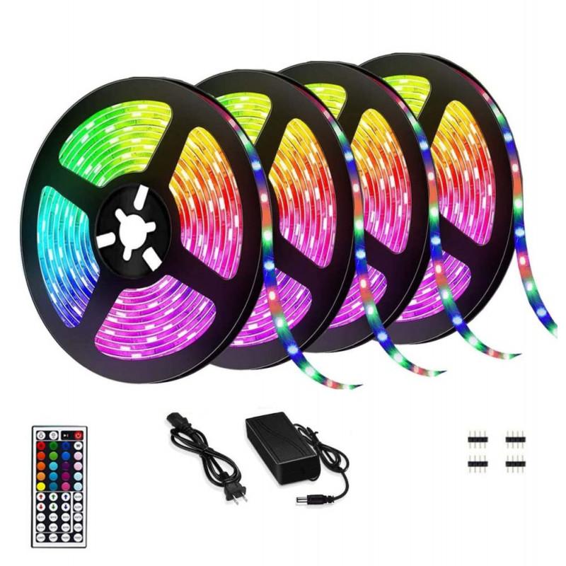 5050 RGB ledszalag, 20 méteres, színváltós - 5...