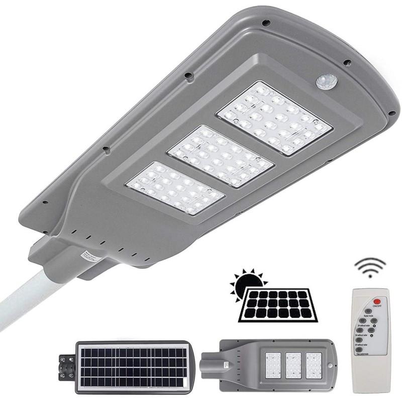 60W Napelemes utcai lámpa távirányítóval /IP6...