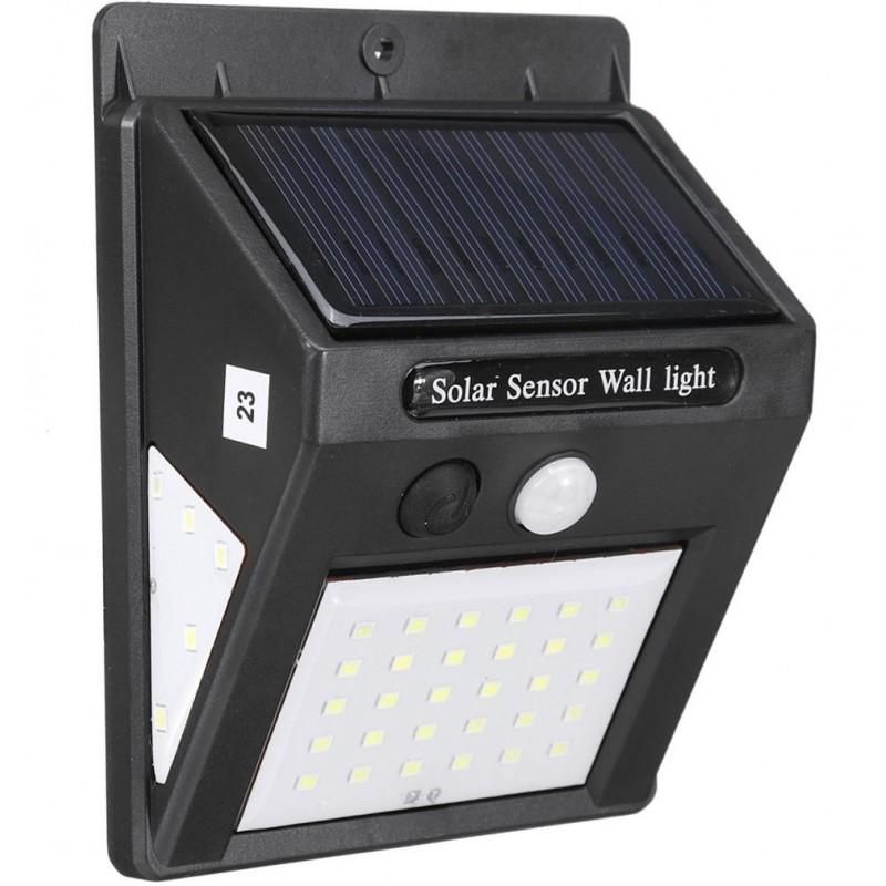 Alloet 30+5+5 LED-es napelemes kültéri  lámpa a...