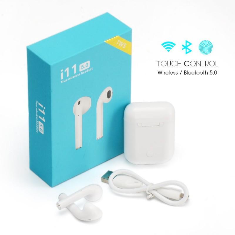 i11 TWS Bluetooth 5.0 Vezetéknélküli Fülhallga...