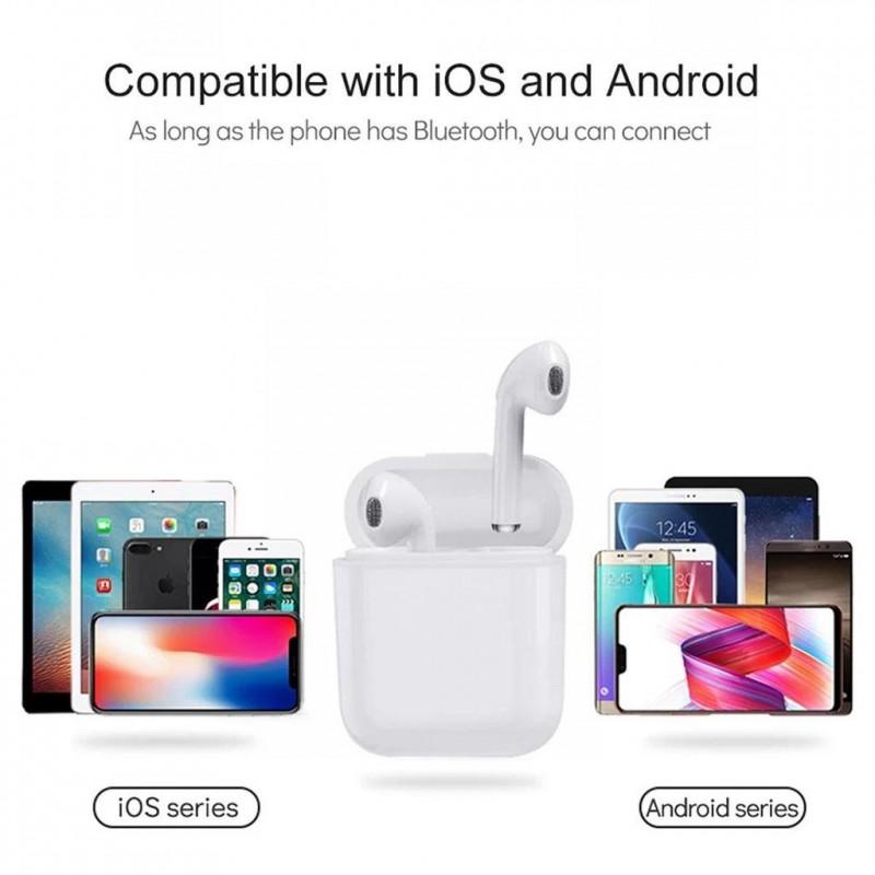 I15 TWS  5.0 Bluetooth , érintésérzékeny