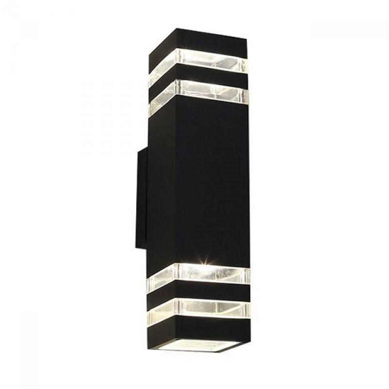 Kültéri fali lámpa /SNHL 1456/ fém ház 30cm