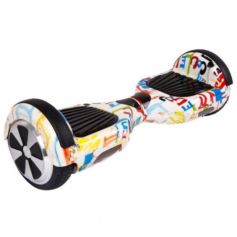 Smart 6.5 Balance Wheel mini segway, Bluetooth, világítása a dobon