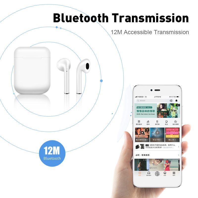 i10 XS TWS Bluetooth 5.0 fülhallgató