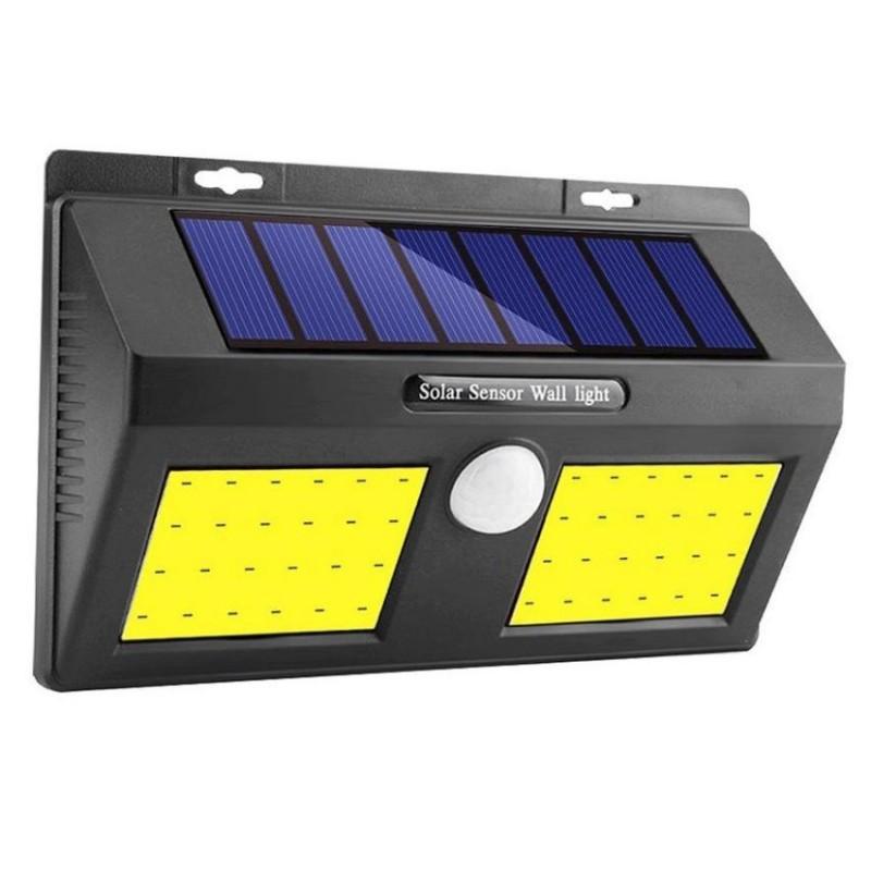 Alloet napelemes kültéri (20W) COB LED lámpa al...