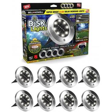 Bell Howell Disk Lights 8 db multifunkcionális LE...