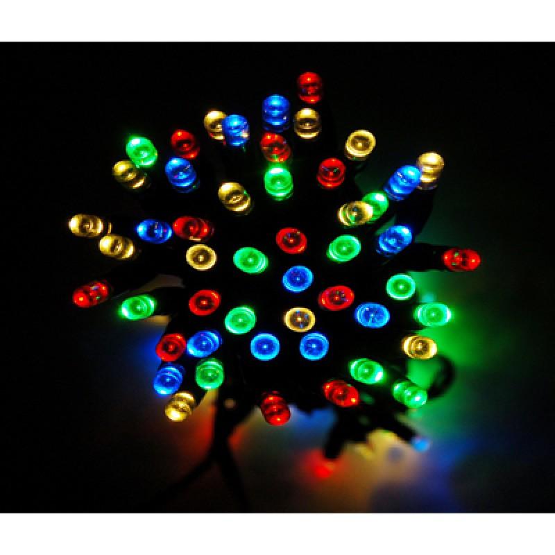 240 LED-es SZÍNES karácsonyfa izzó