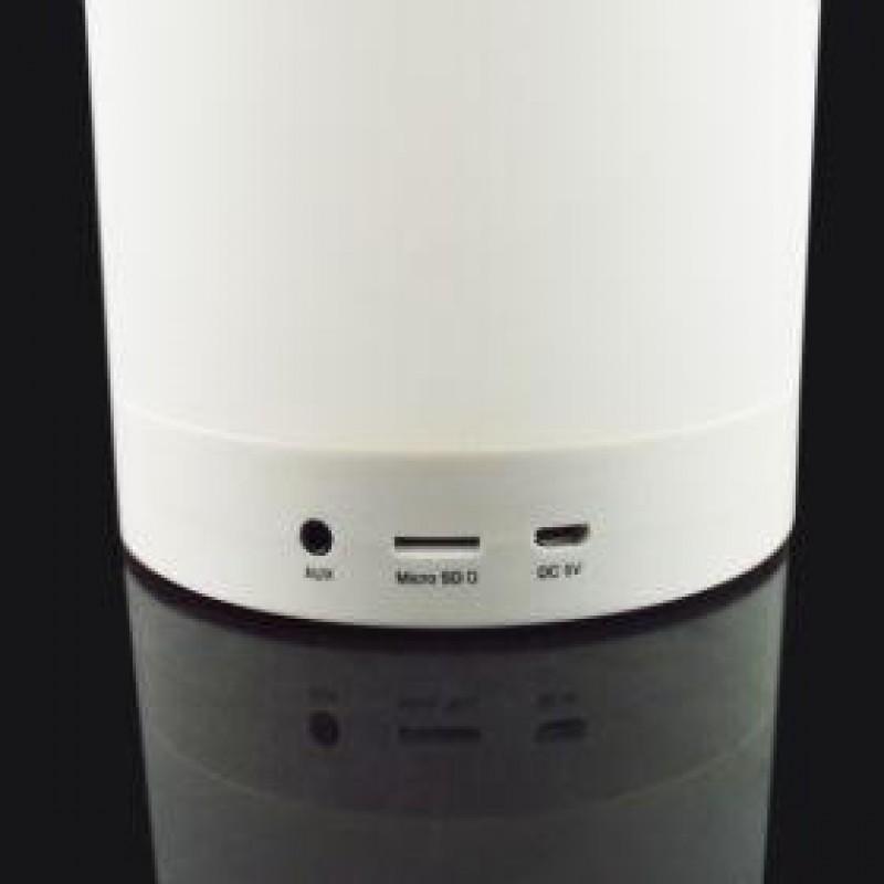 Bluetooth-os hangszóró LED lámpával akasztóval