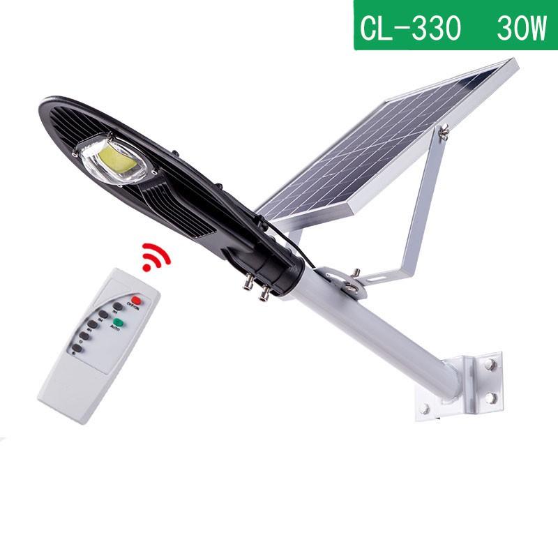 CCLAMP CL-330 Kültéri Napelemes Led Lámpa 30W