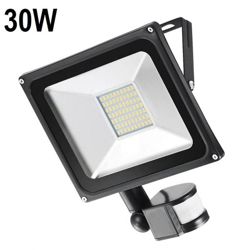 30 W Mozgásérzékelős LED Reflektor