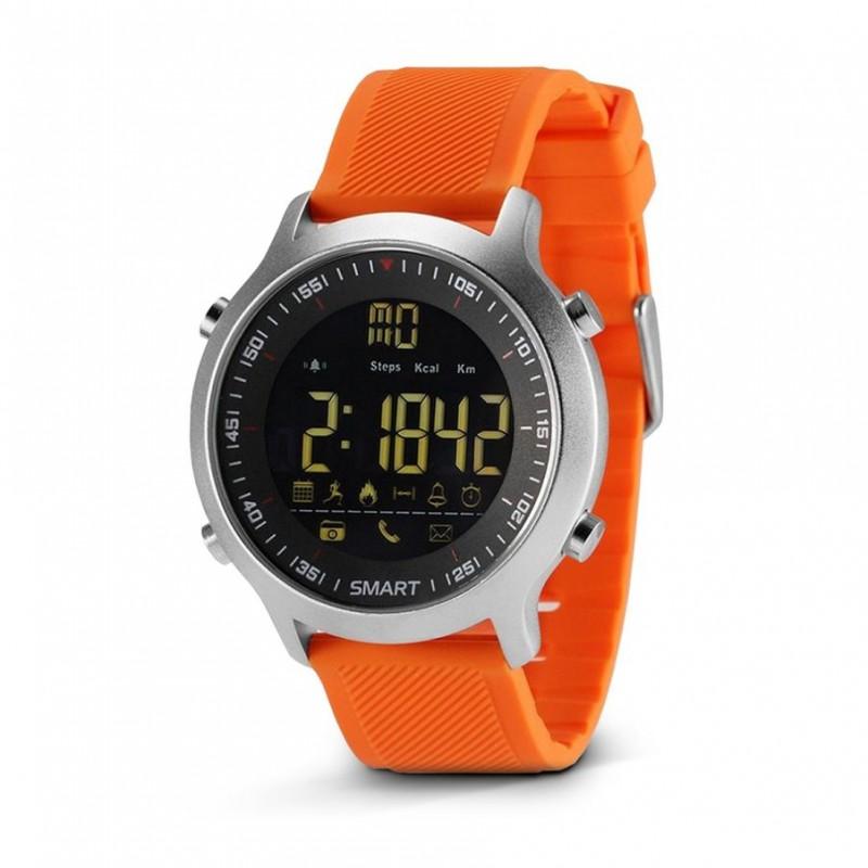 EX18 Smart Watch víz-, por-, ütésálló bluetooth sport okosóra hívás emlékeztető funkcióval
