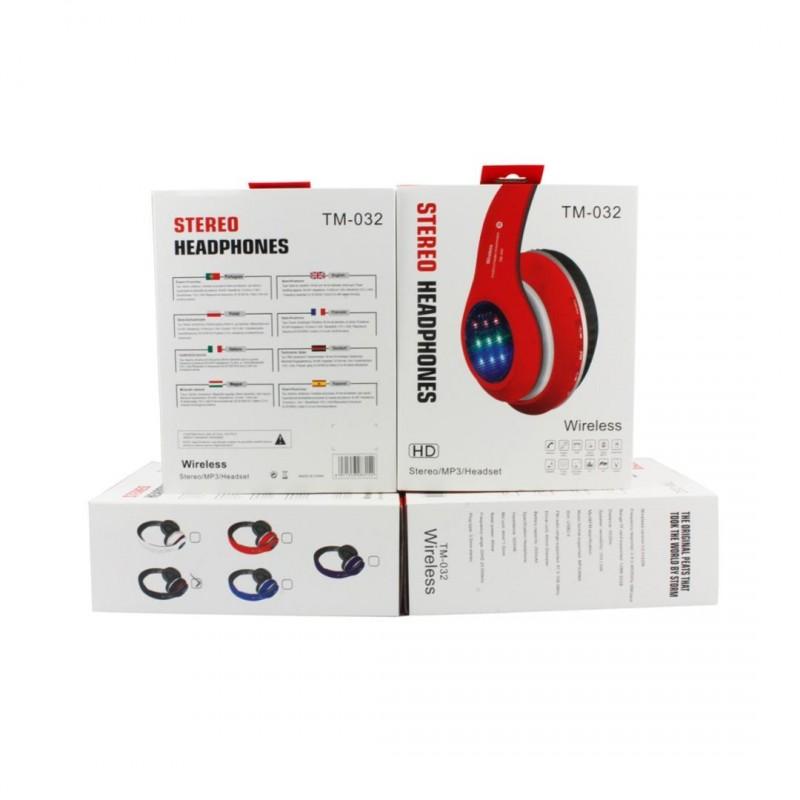 TM-032 Bluetooth Stereo Fejhallgató