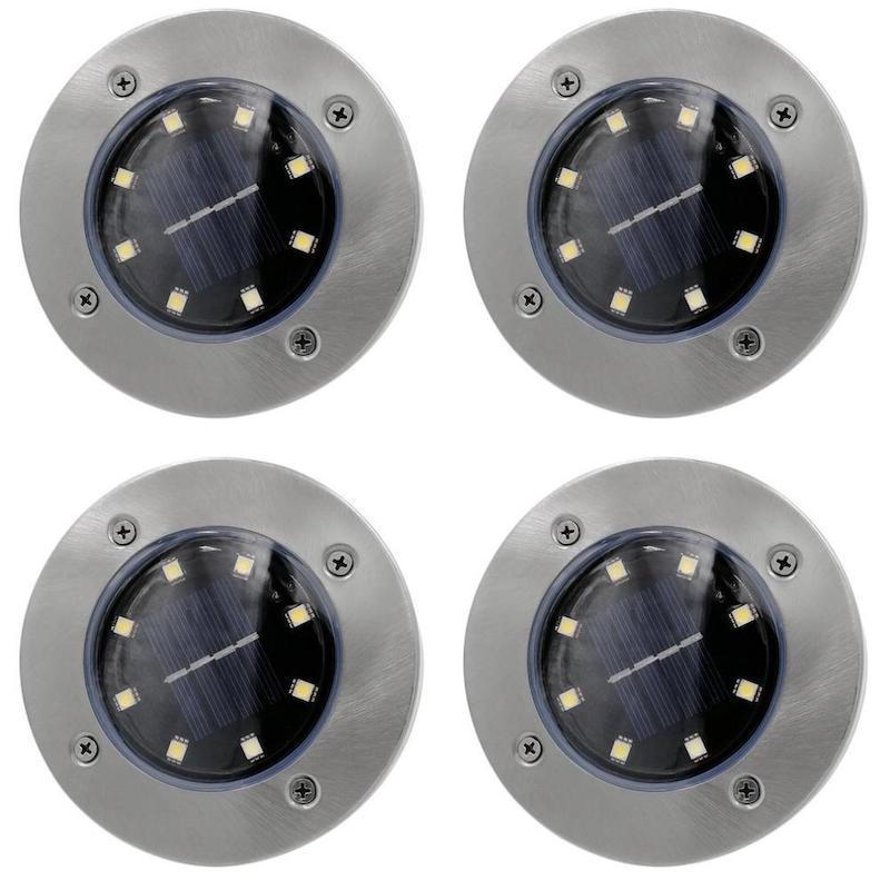 Bell Howell Disk Lights 8 db multifunkcionális LED-es szolárlámpa