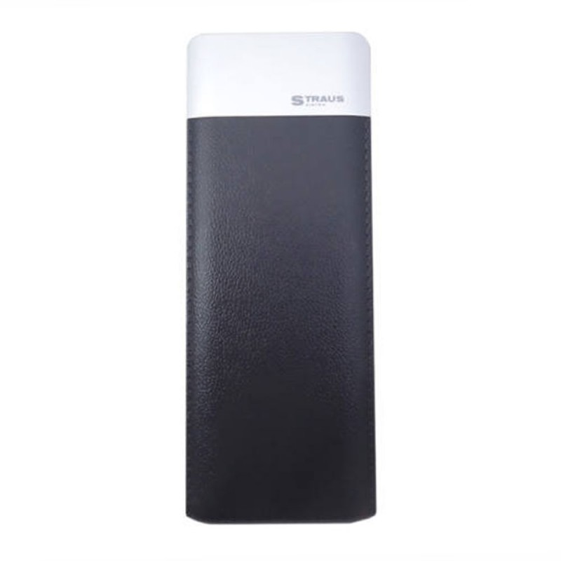 Straus 10.000 mAh power bank fekete