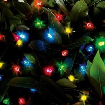 104 Ledes Színes(Multicolor) Karácsonyi Led fén...