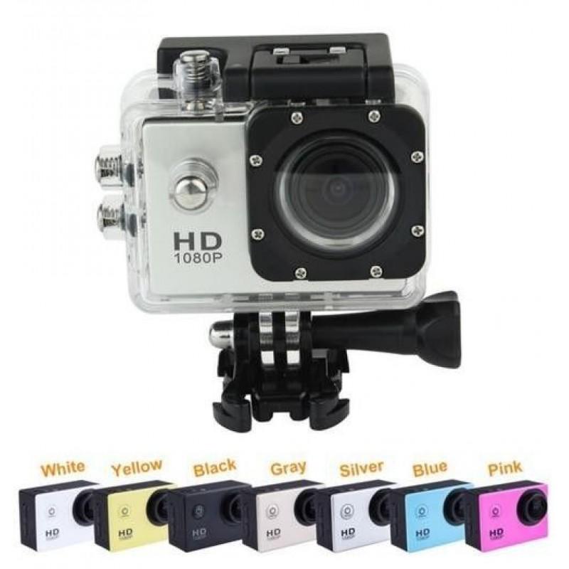 Full HD sport Kamera 1080p vízálló