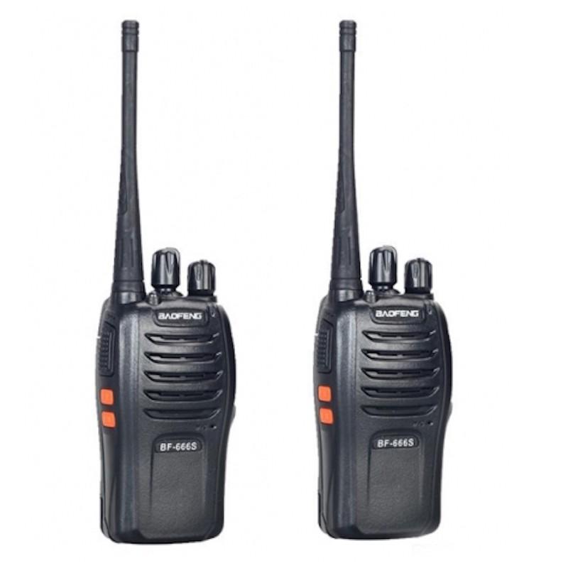 Baofeng BF-666S kétirányú rádió walkie talkie...