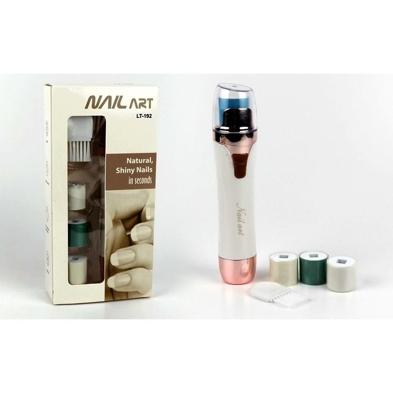 NAIL ART LT-192 köröm polírozó gép 4 db fejje...