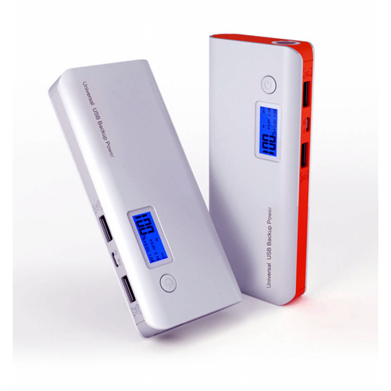 Power Bank 20000 mAh Lcd