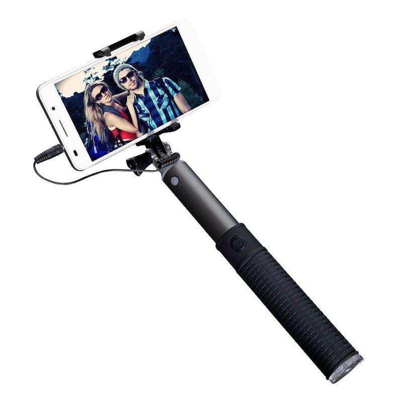 Teleszkópos selfie bot exponáló gombbal 78 cm