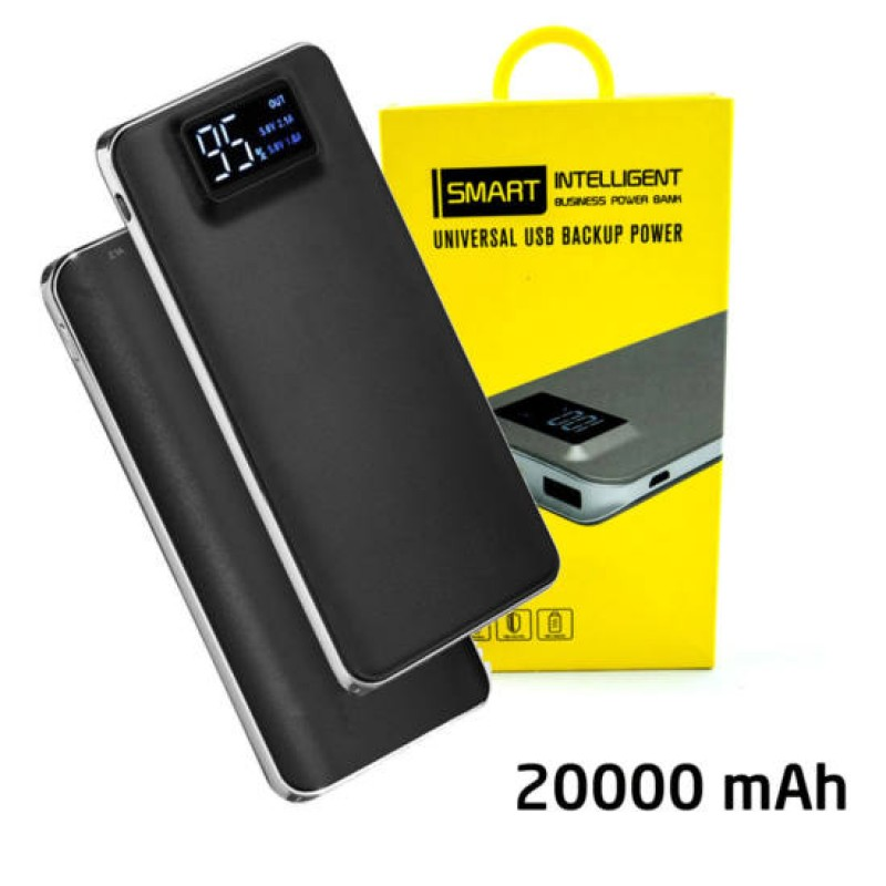Smart Intelligent Business Powerbank 20000 mAh