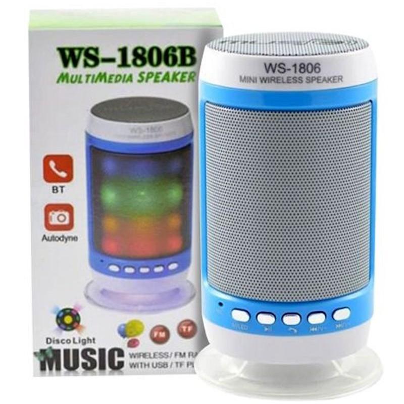 Asztali bluetooth hangszóró WS-1806B