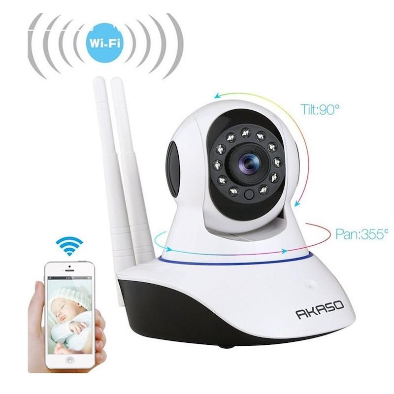 Akaso Forgatható WiFi IP kamera
