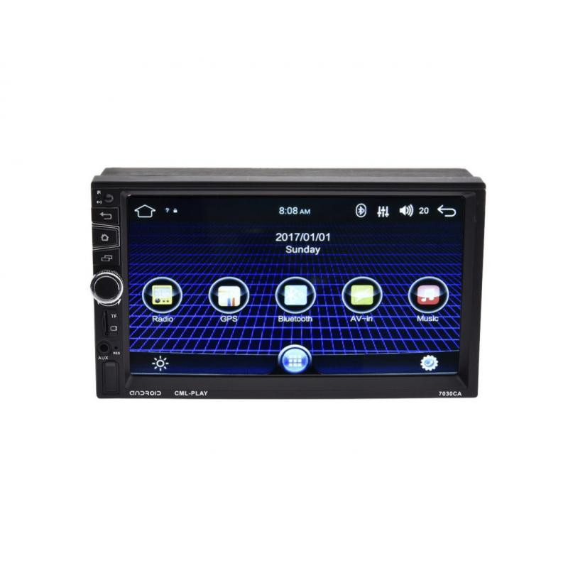 Autós Mp5 lejátszó 8702CA 2DIN érintőképerny...