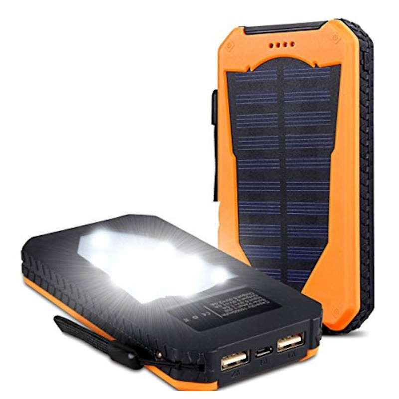 PowerBox Sun Power Bank 5000mAh - Napelemes, Csepp...