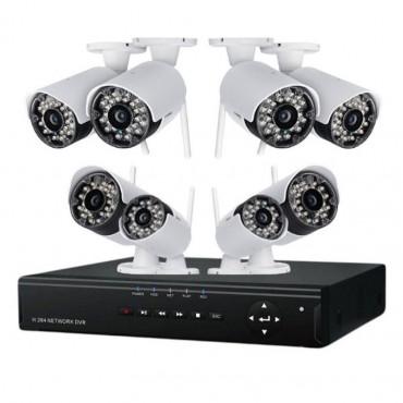 Online Megfigyelőközpont, 8 kamerával