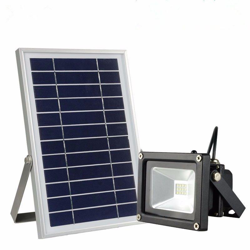 CClamp integrált napelemes LED reflektor távirá...