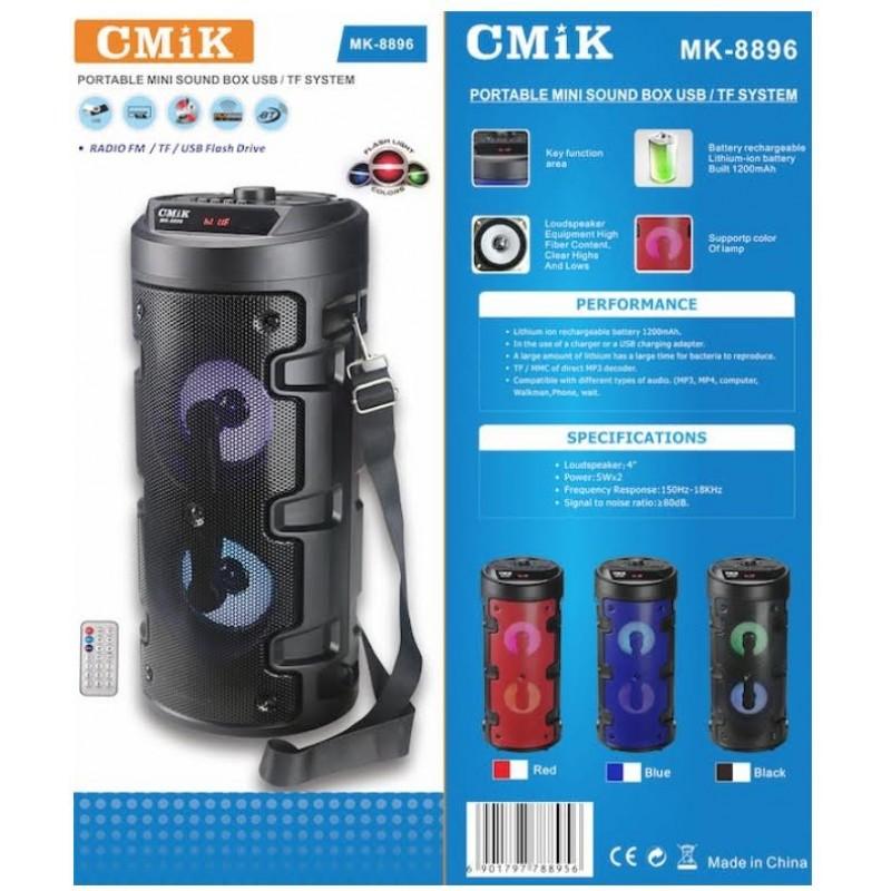 CMIK MK-8896 aktív hangszóró, Bluetooth, USB, SD, FM