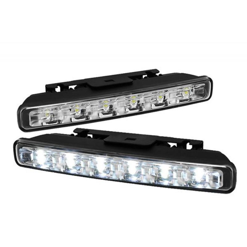 6 LED-Es Autó Menetfény