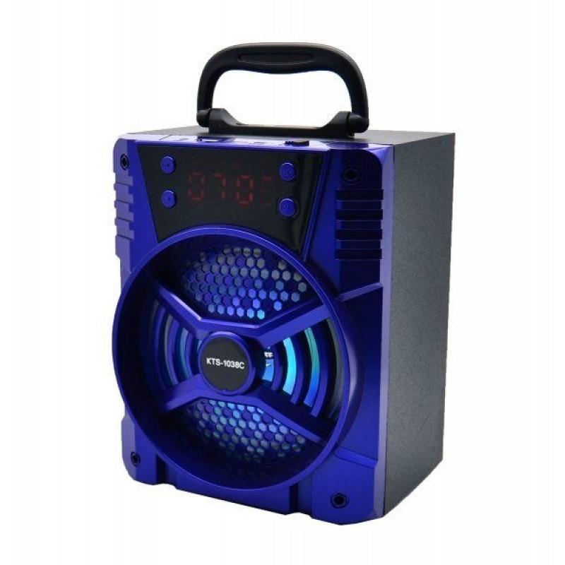 Hordozható vezeték nélküli BT hangszóró KTS-...