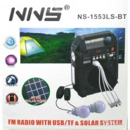 NNS NS-1553LS napelemes kompakt powerbank - rádi�...
