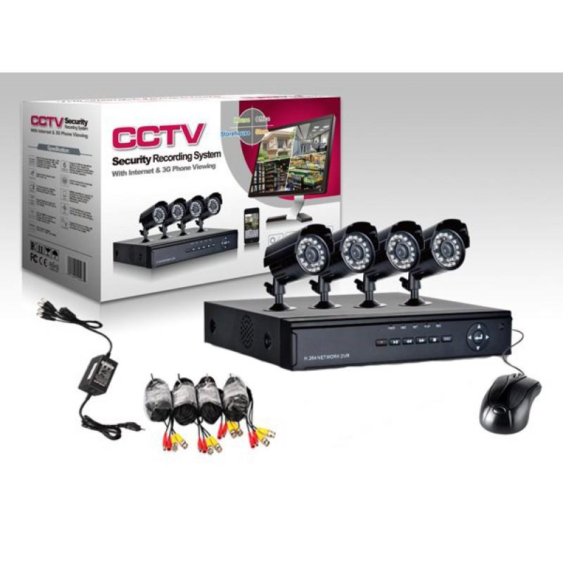Online Megfigyelő központ 4 kamerával