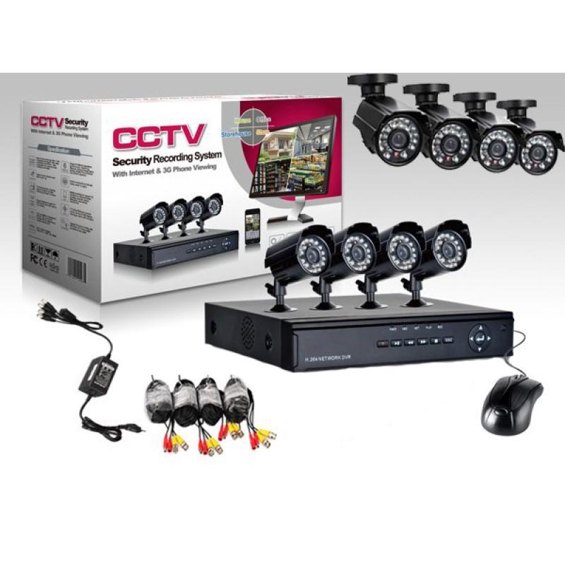 Online Megfigyelő központ 8 kamerával