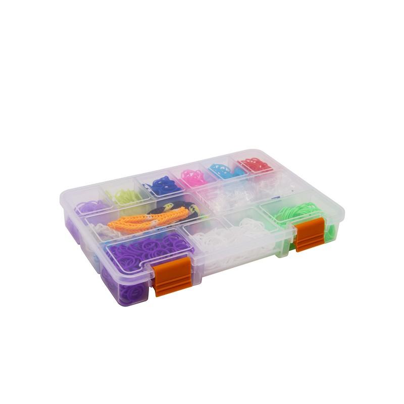 Műanyag tároló doboz 3 féle méretben - 9 mér...