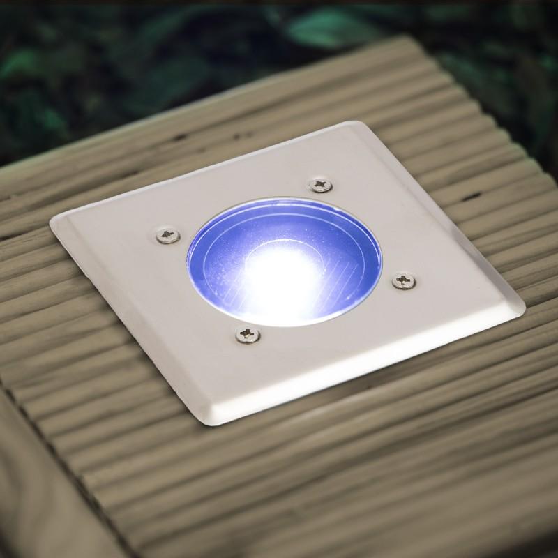 LED-es süllyeszthető lépésálló szolár lámp...
