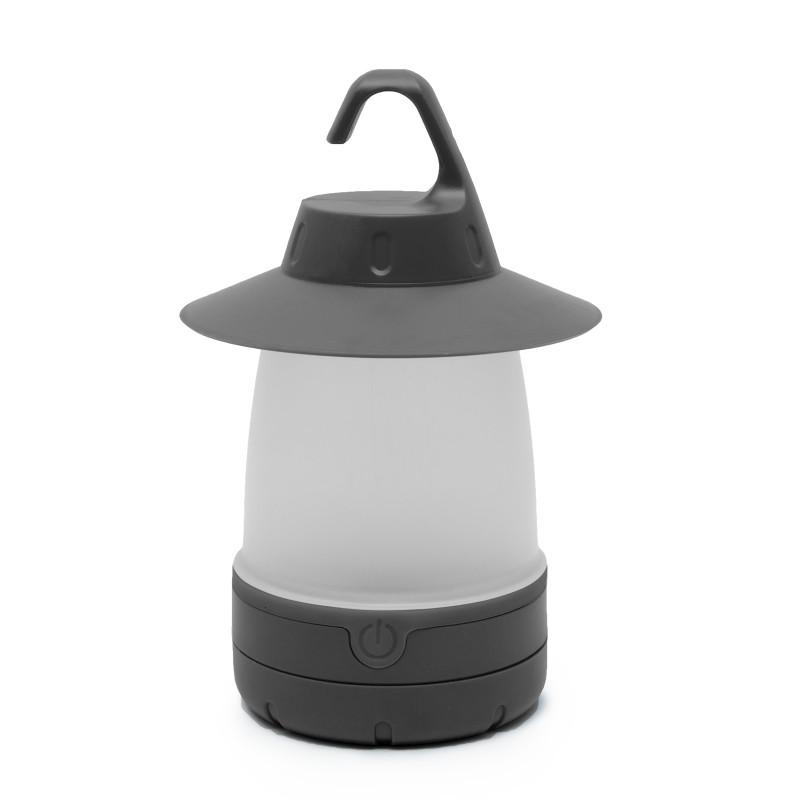 Akasztható kemping lámpa - Szürke